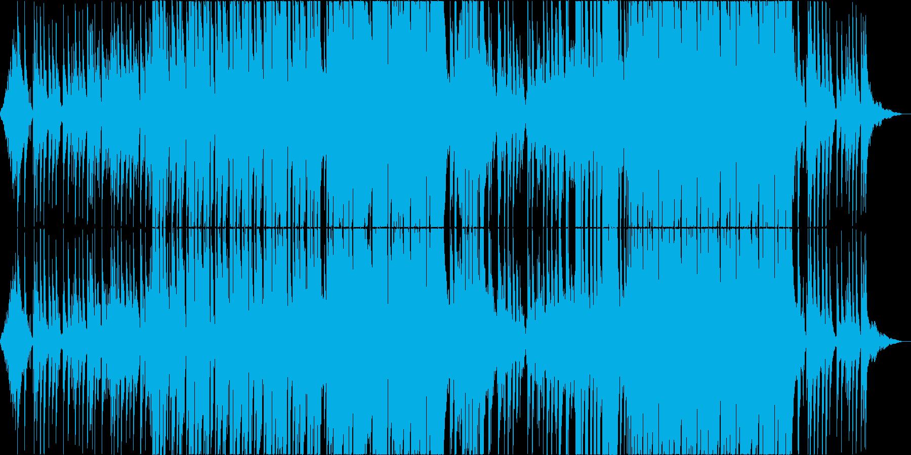 【トロピカルハウス】さわやかなEDMの再生済みの波形