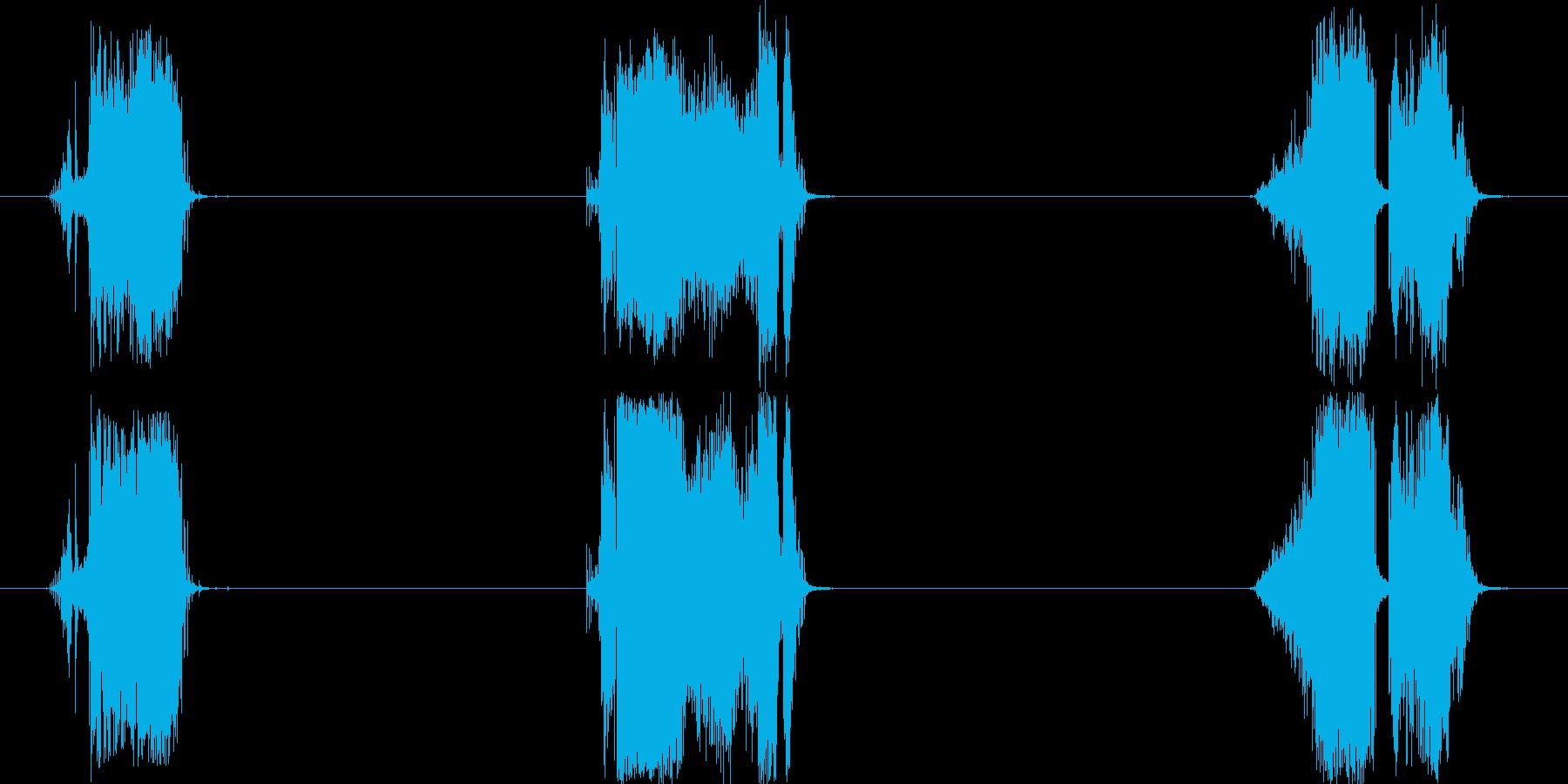 トランジション 擦れる音 09 の再生済みの波形