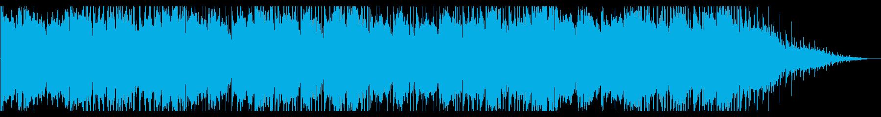 幻想的で寂しげなHIPHOPの再生済みの波形