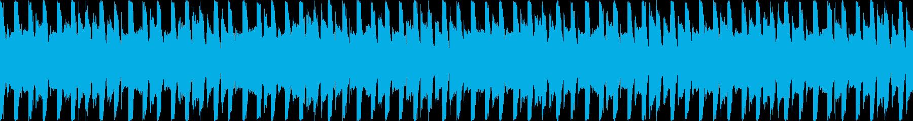 運動・フィットネス/30秒ループ曲4の再生済みの波形