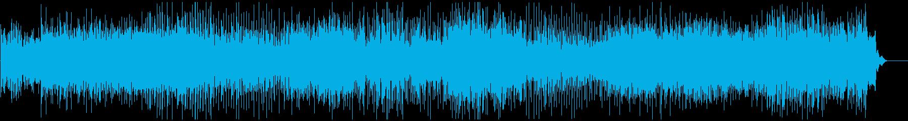 陽気で軽快なブルーグラスの再生済みの波形