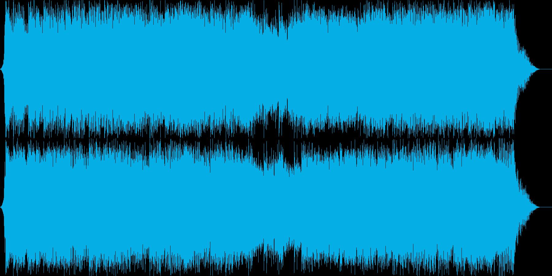 ダークファンタジーオーケストラ戦闘曲54の再生済みの波形