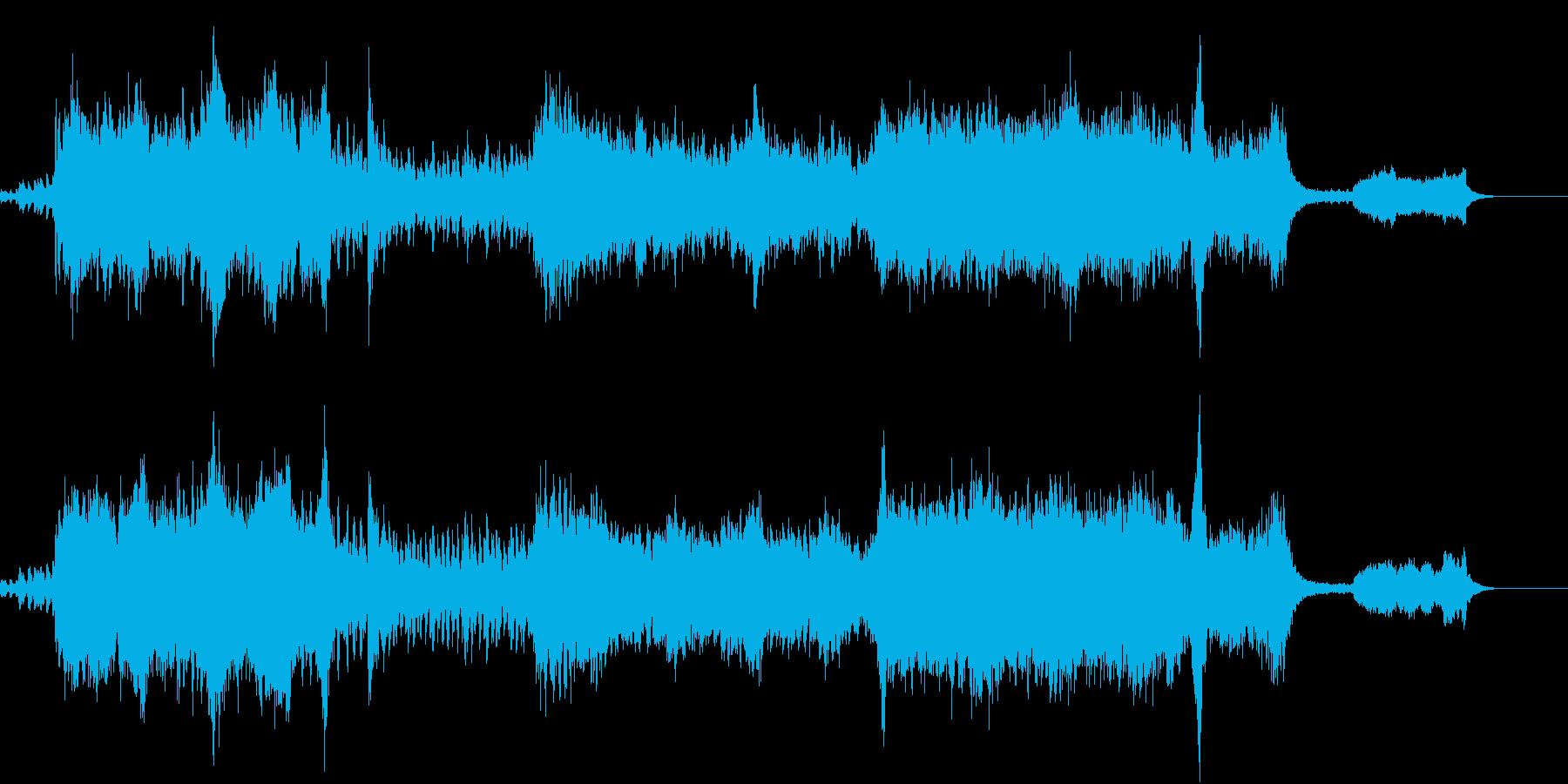 ファンタジー系オーケストラ オープニングの再生済みの波形