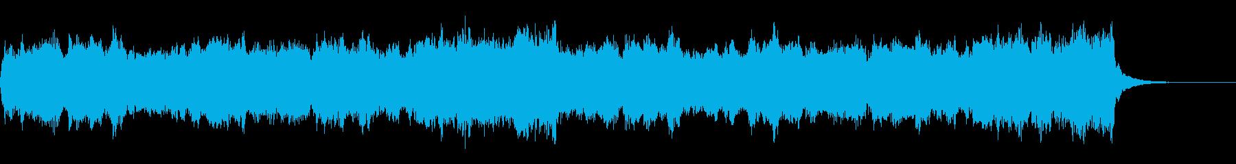 ハリウッド感動系ゆっくり壮大オーケストラの再生済みの波形