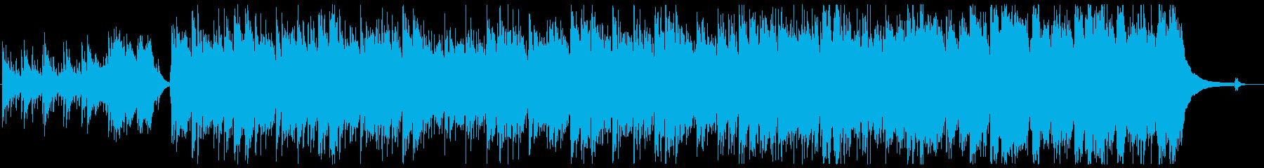 星のピアノの再生済みの波形