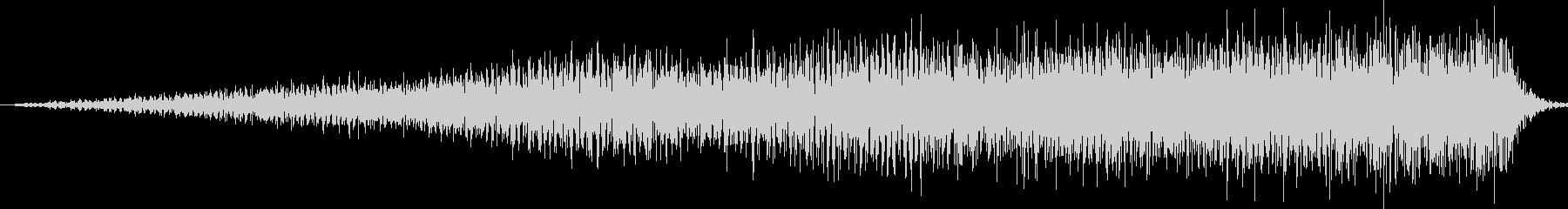 SE 高音ノイズ ギューンDWONの未再生の波形