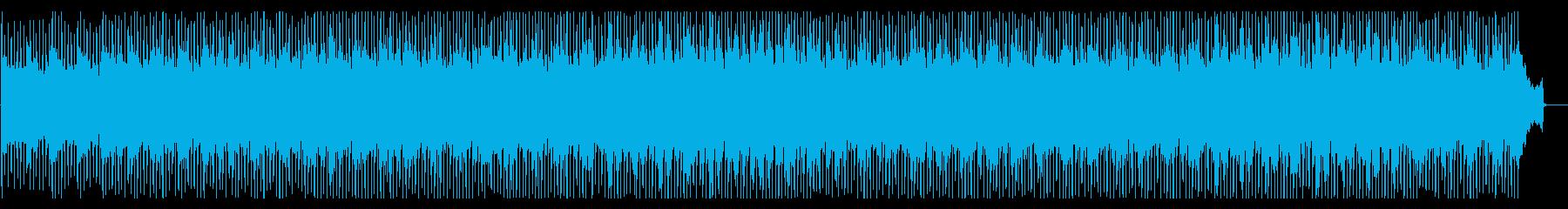企業VP 学校紹介 期待感 ワクワクの再生済みの波形