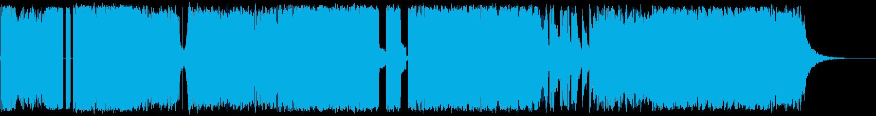 テレビゲーム エレキギター エレクトロの再生済みの波形