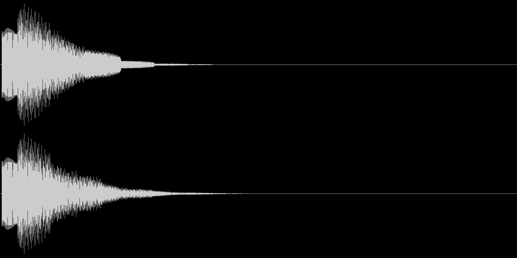 ピコンロンロン(トピック、アイキャッチ)の未再生の波形