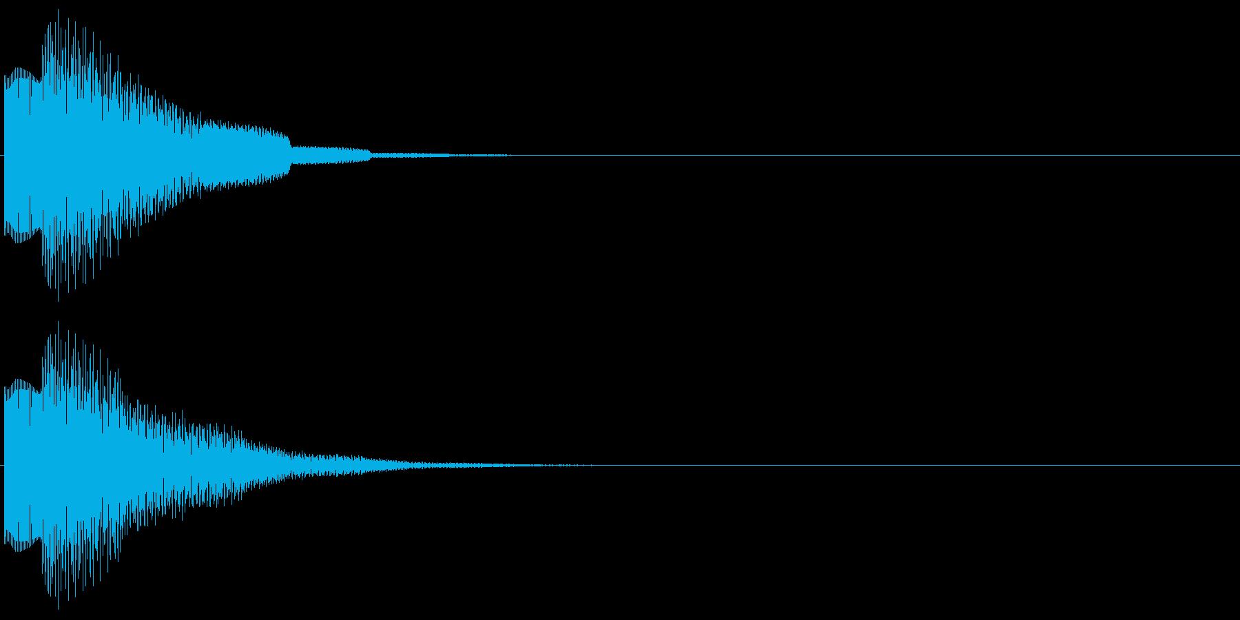 ピコンロンロン(トピック、アイキャッチ)の再生済みの波形