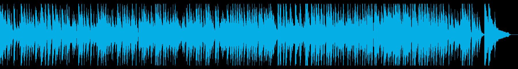 グルメ番組などに合いそうなJazzの再生済みの波形