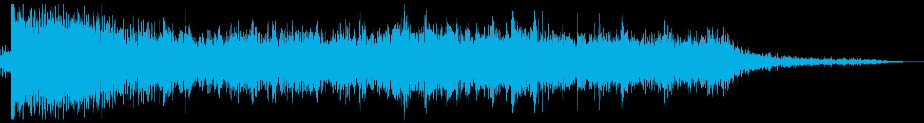 バッドエンディング ホラーは続く…の再生済みの波形