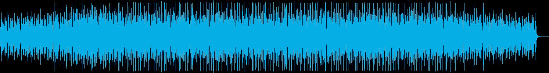 不思議な雰囲気のミニマルミュージックの再生済みの波形