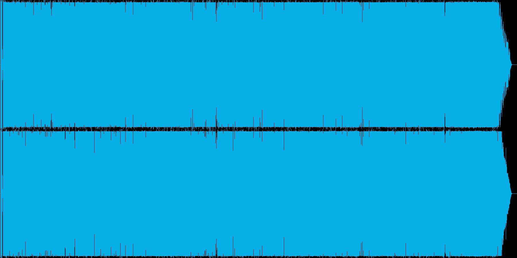 バウンスビートのメロディアスなポップスの再生済みの波形
