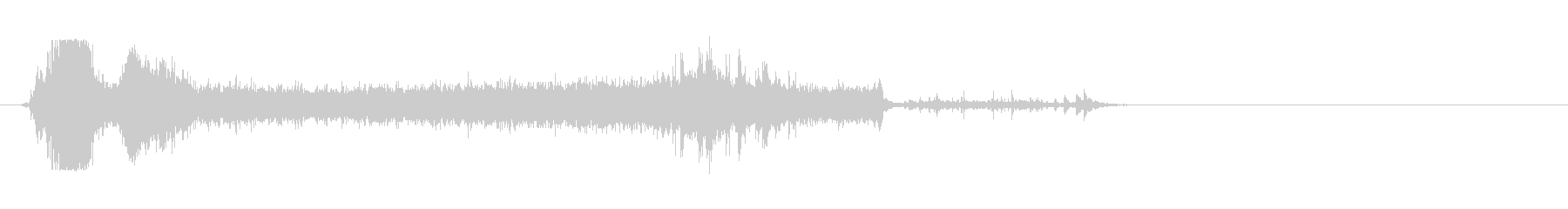 トイレフラッシュ2、古いタイプ。の未再生の波形