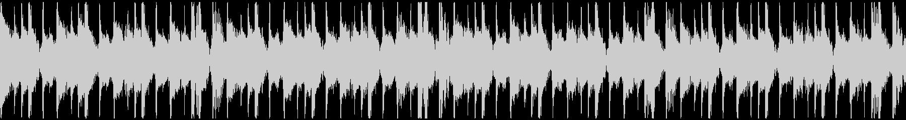 トロピカル・おしゃれ・情熱的BGMループの未再生の波形