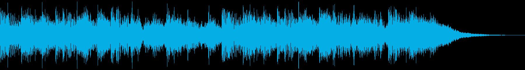 機械音で作ったSFチックなジングルです。の再生済みの波形