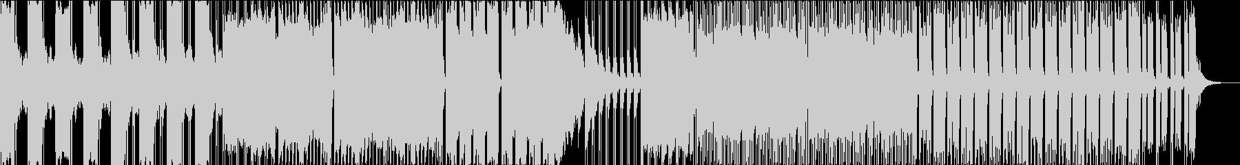 ダークで心臓音を使ったエレクトロの未再生の波形