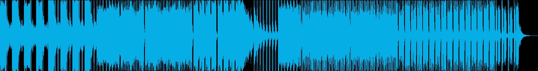 ダークで心臓音を使ったエレクトロの再生済みの波形