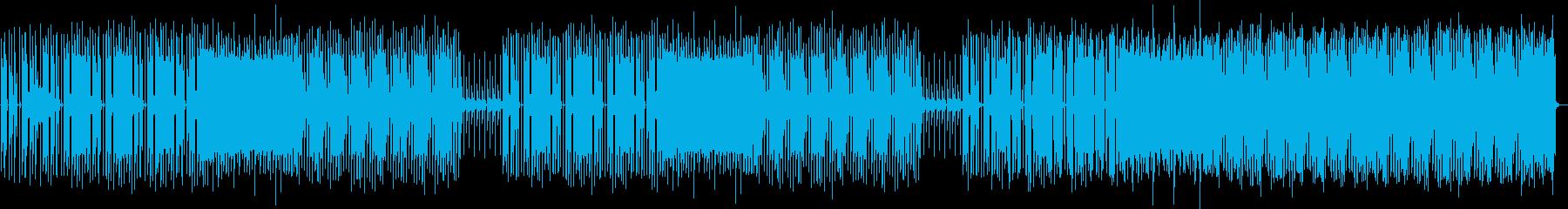 不協和音のシンセライン、不気味なピ...の再生済みの波形