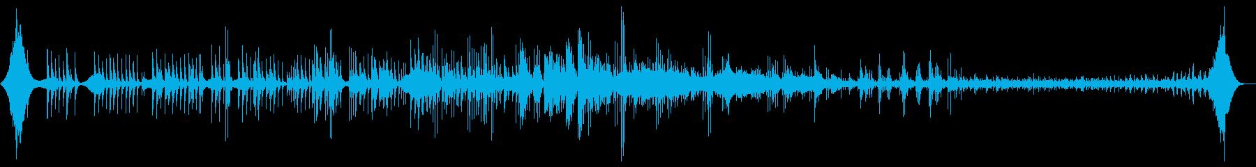 静かな目覚めを導くカリンバの響きをどうぞの再生済みの波形