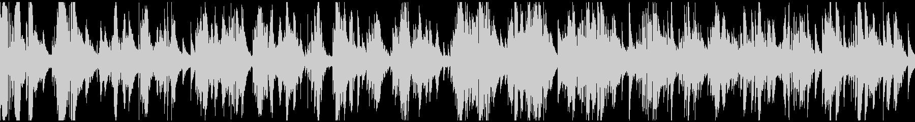 極太低音サックスのソフトジャズ※ループ版の未再生の波形
