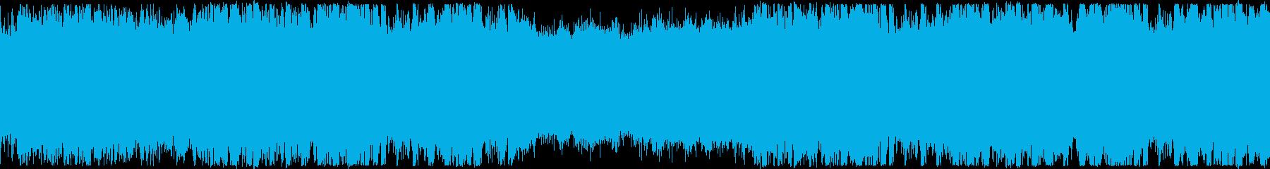 洋楽・おしゃれフューチャーベース・ループの再生済みの波形