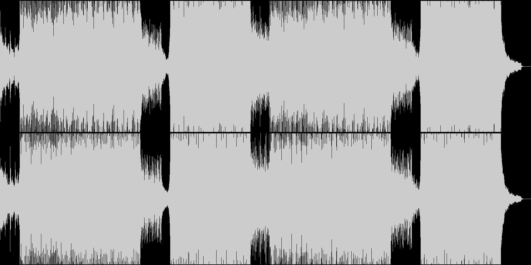 【BGM】コーポレート、爽やか、ギターの未再生の波形