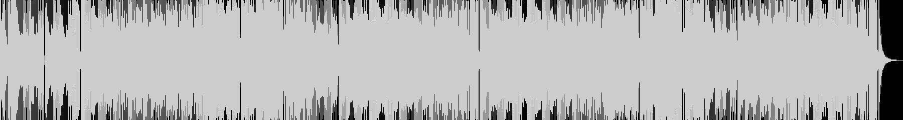 陽気な勝負(ギャグ)の未再生の波形