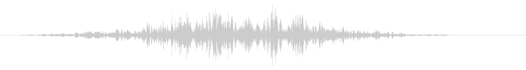 スライムなどが蠢く音 タイプA#3の未再生の波形