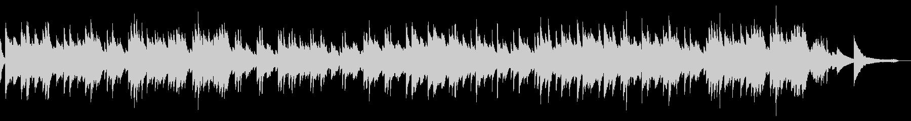 優しく前向きな爽やかピアノソロ(2分)の未再生の波形