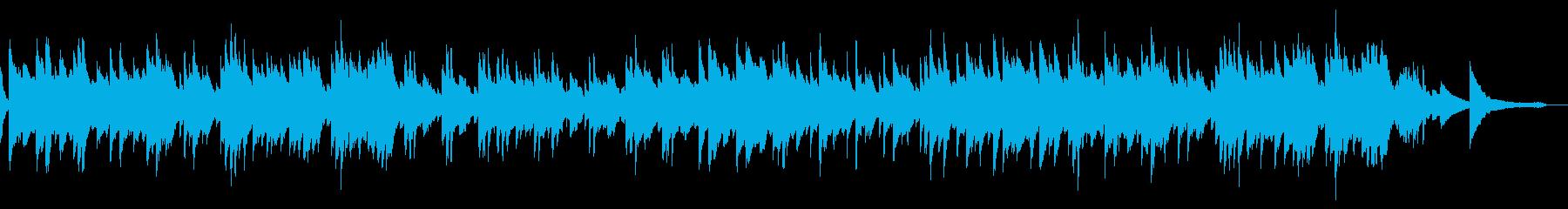 優しく前向きな爽やかピアノソロ(2分)の再生済みの波形