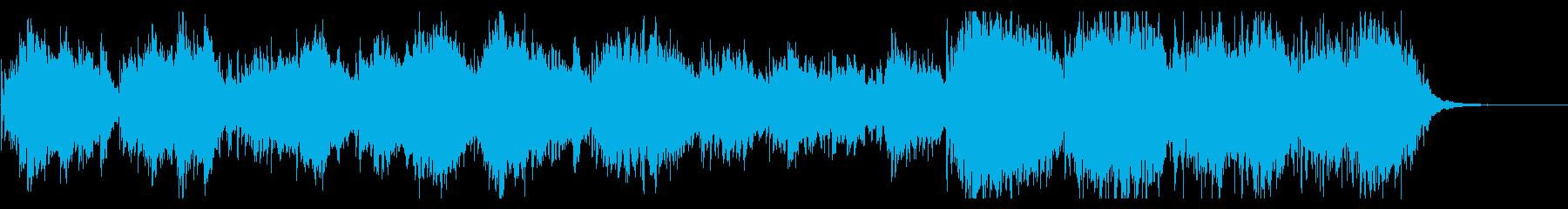 ピアノとチェロが彩るポスト・クラシカル曲の再生済みの波形