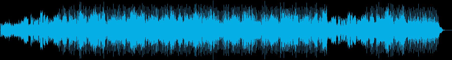 ヒーリング しっとり落ち着いたフルートの再生済みの波形
