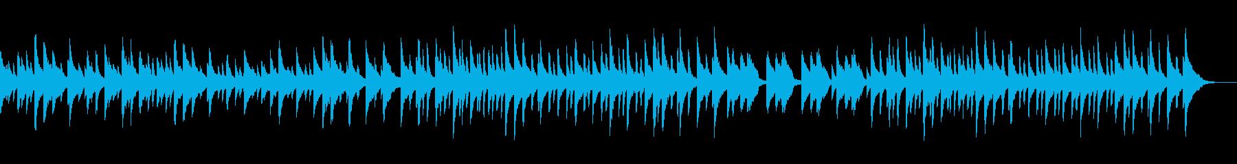 ラジオ体操をイメージしたほのぼのBGMの再生済みの波形