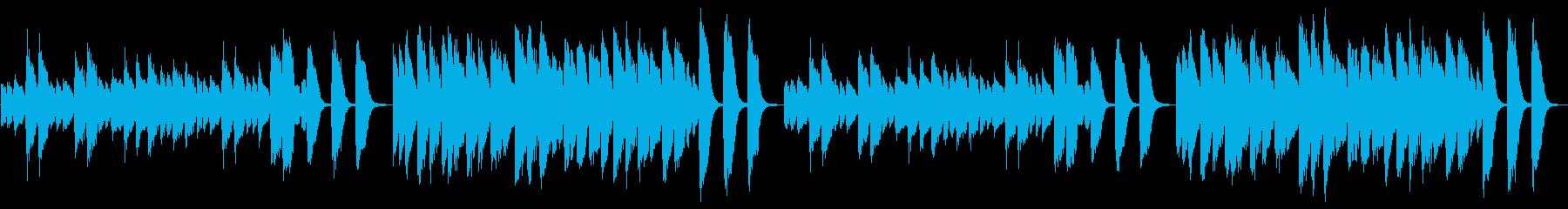 3分クッキングの原曲(ピアノソロ)ループの再生済みの波形