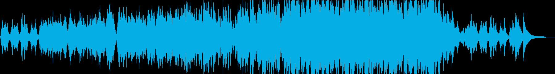 【生演奏】綺麗なバイオリン曲バラードの再生済みの波形