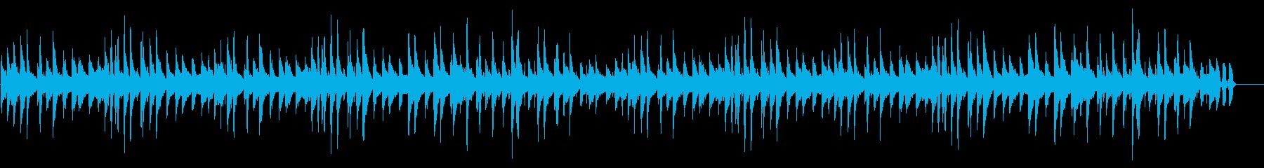 【木琴】ほのぼのお散歩の再生済みの波形