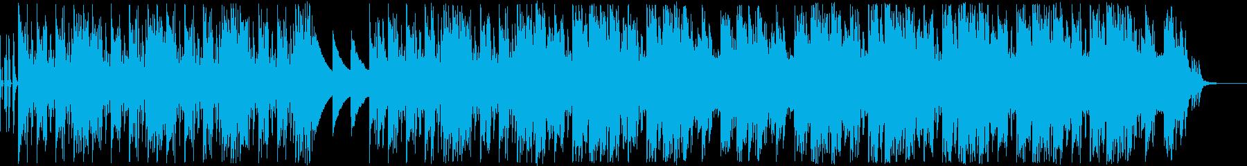 アンニュイで暗めなチルアウトの再生済みの波形