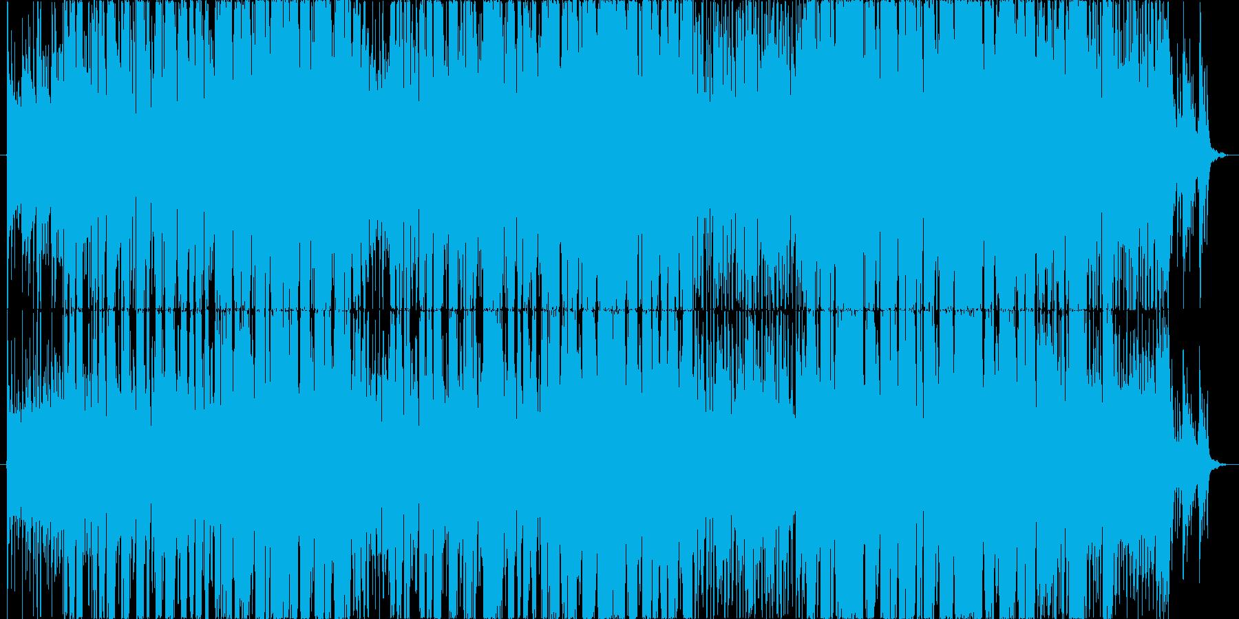 南国をテーマにしたボサノバ曲の再生済みの波形