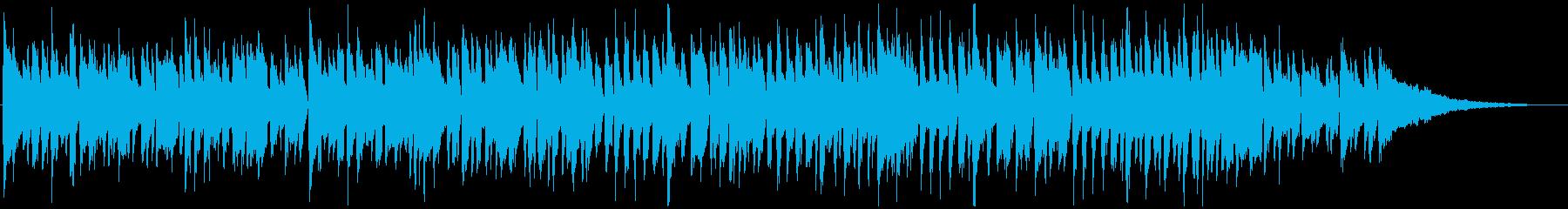 爽やかで軽快な日常用BGMの再生済みの波形