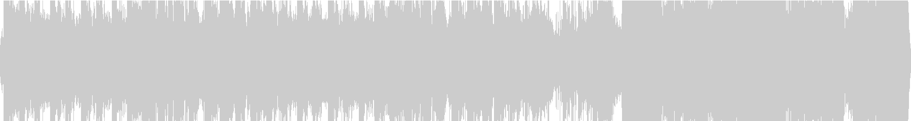 中華風の優雅なBGM(ループ)の未再生の波形