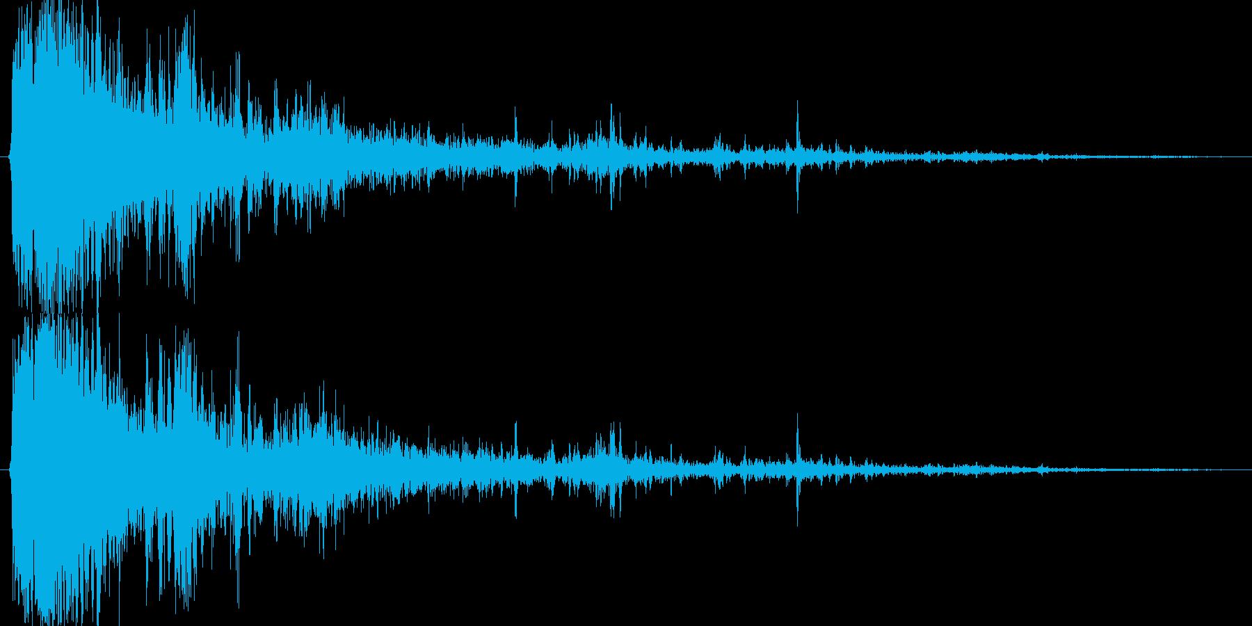 使いやすい ジェネリックThund...の再生済みの波形