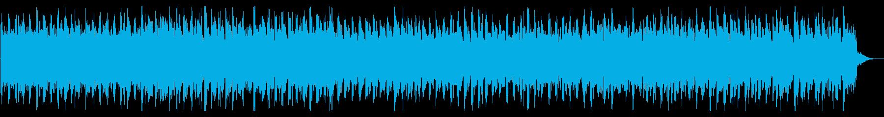 堂々とした曲調のエレクトロニックの再生済みの波形