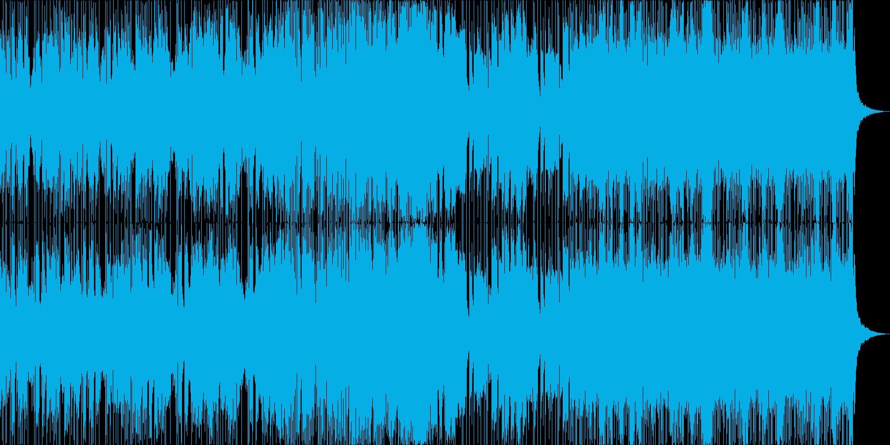 緊張感のあるエレクトロニカの再生済みの波形