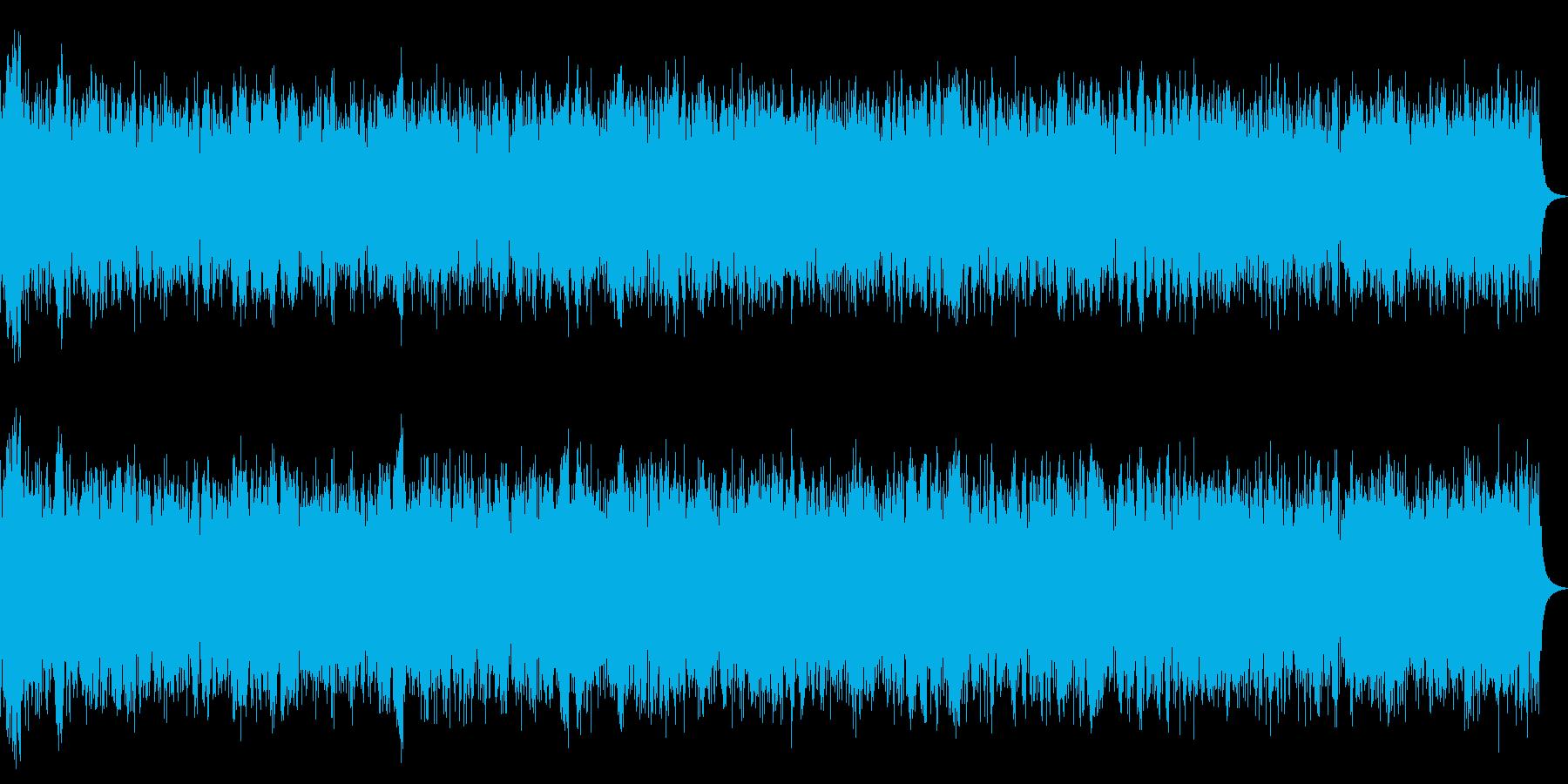 レトロな目覚まし時計のベル(ジリリリ)Cの再生済みの波形