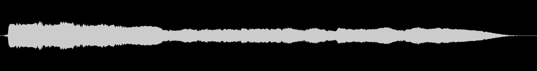 スパイラルスライドダウンの未再生の波形