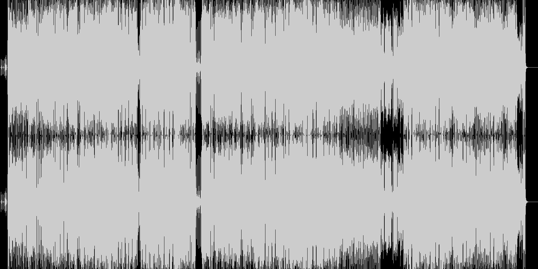 トロイカの箱の未再生の波形