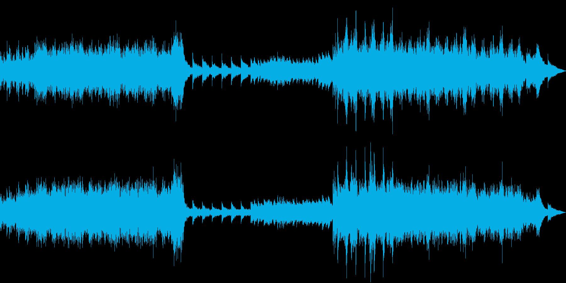 嵐をイメージした曲、ゲーム等のOPにの再生済みの波形