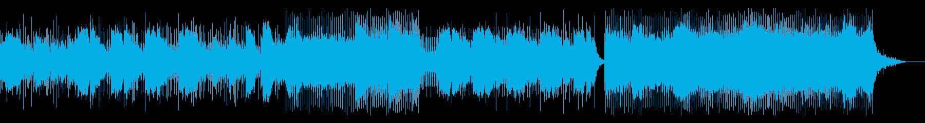 クリスマスの季節にオススメのポップスの再生済みの波形
